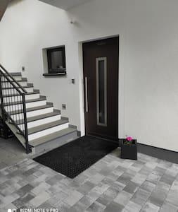 Eingang zum Appartement Bertl