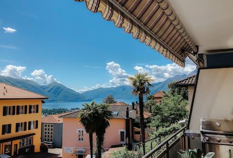 Lake view design Studio with nice balcony
