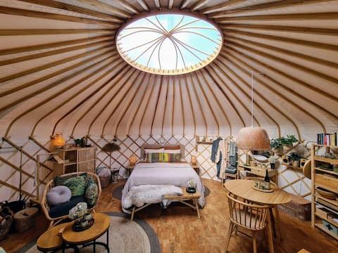 FarmGlamping v luxusnom butiku Yurt!