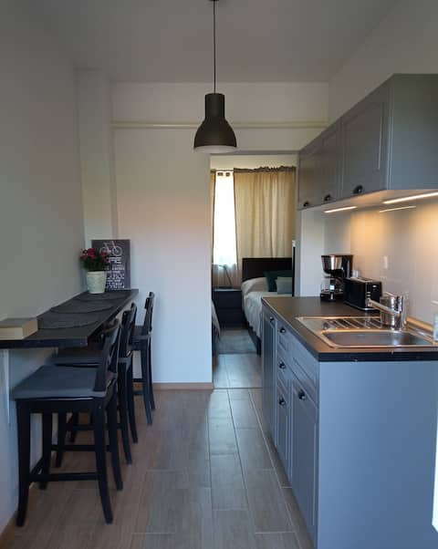 Cozy apartment (south Krakow) with private parking