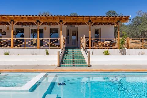 Hart Flat Hacienda Ranch Retreat w/ Pool & Hot Tub