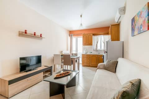 Comfortable one-bedroom near the center of Sitia