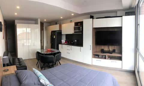 Acogedor Apartamento loft completamente dotado