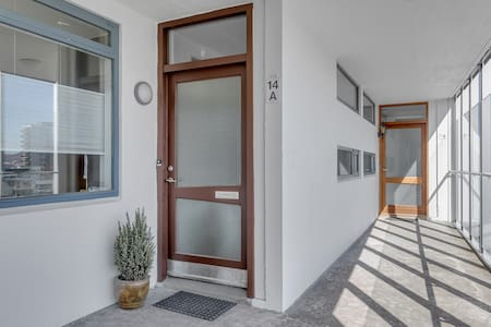 The entrance in to the apartment