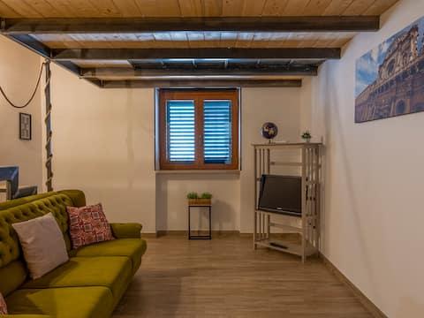 Rez-de-chaussée de vacances - Studio avec cuisine et Wifi