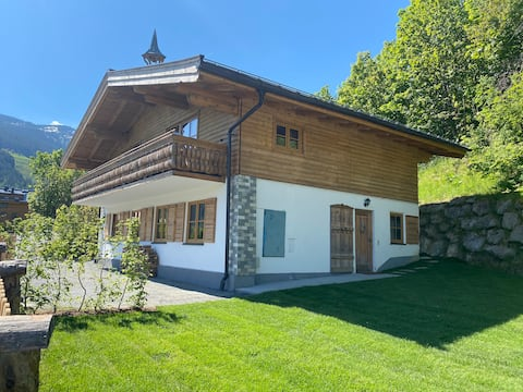 Charming chalet with garden &amazing mountain view