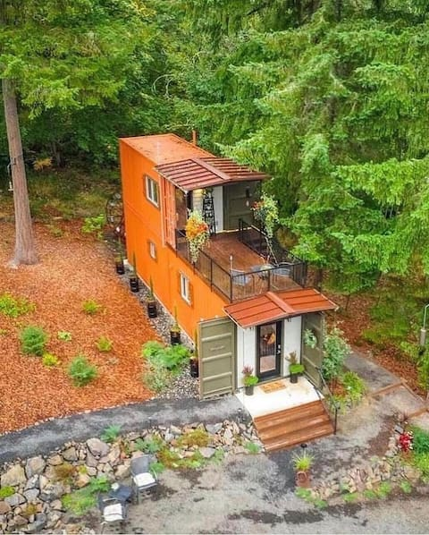 Shipping Container Home at Highland & CO Acres