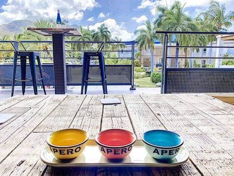 Acacia Beach 66,  luxueux Duplex à 5' de la plage