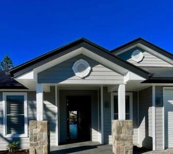 This home has been built to be an accessibility home. There are no steps to enter and it is a wide entry door