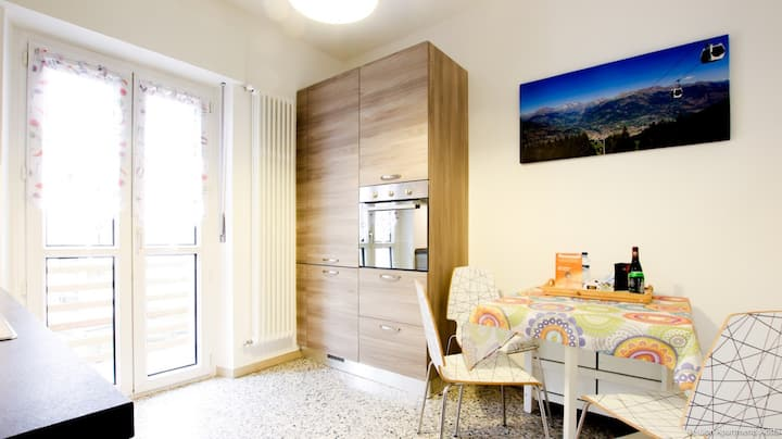 VOISON 1 ( The quiet and cozy flat in Aosta )