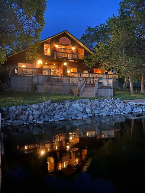 Little Earth Lodge on Spiritwood Lake by Jamestown