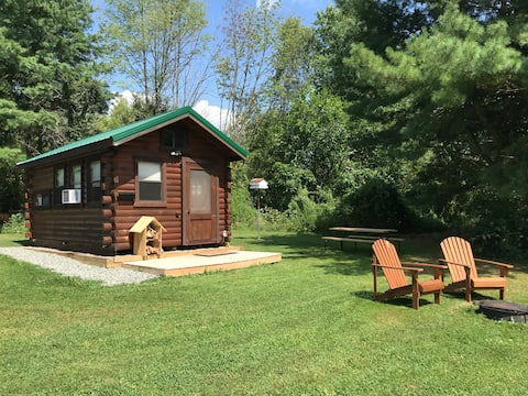 Farm stay - guest cabin