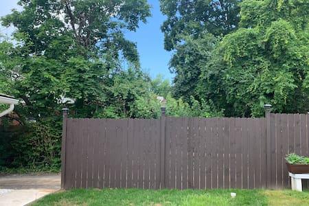 Fence light