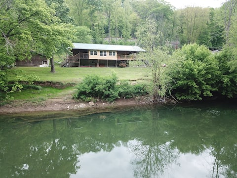 Whistlestop Camp on the Greenbrier River
