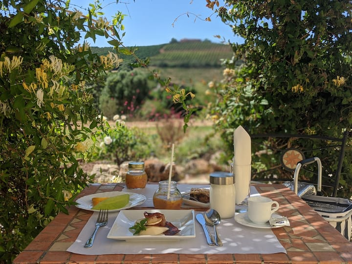 Double/twin,  pool view,  rural algarve guesthouse