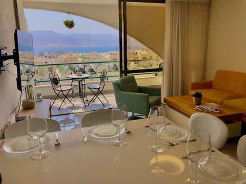 Eilat of fun-Sea view (New listing)