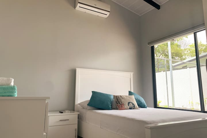 Our third room, fully equipped with AC.