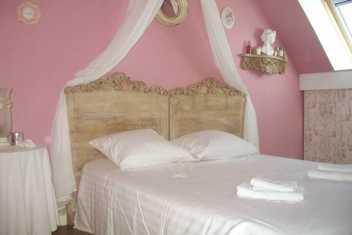 Chambre 3 avec un lit de 160