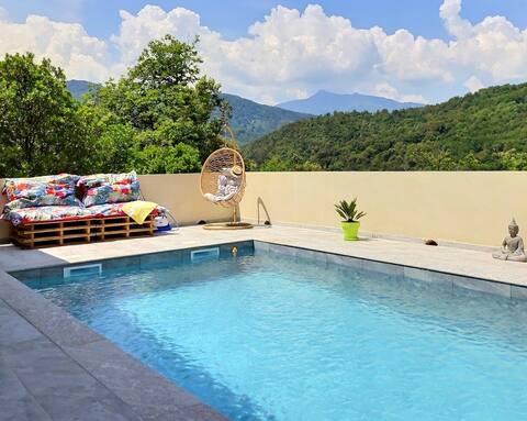 Luxury Villa with swimming pool In Castagniccia
