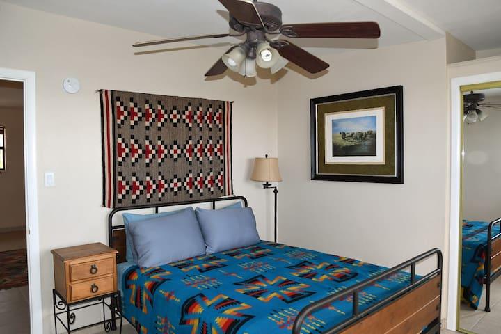 Bedroom #3 with queen bed.