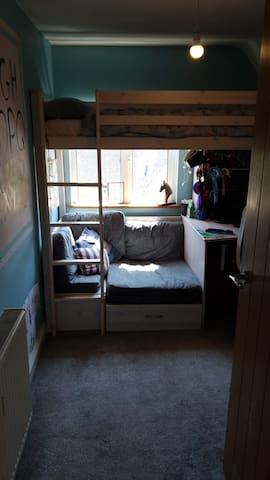 small box room for 2 children