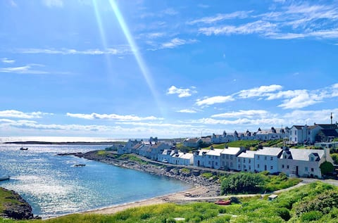 Bayview, A cosy house in scenic Portnahaven, Islay