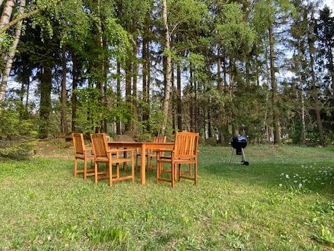 stilvolle Wohnung in Mitten der Natur