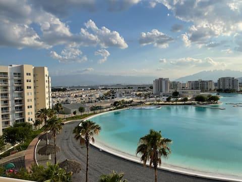 Dream Lagoons, hermosa vista cerca del aeropuerto