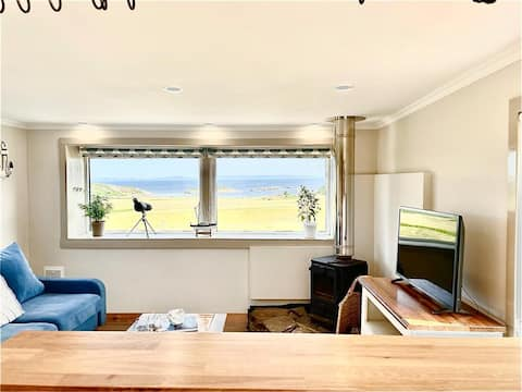 Relax in one of our beach style cabins