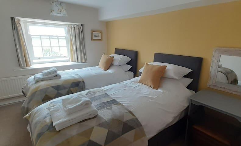 Twin bedroom - x2 full size singles