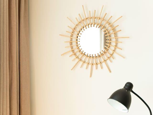 波西米亚装饰镜子
