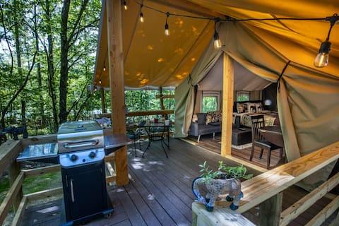Safari Sun Glamping Tent