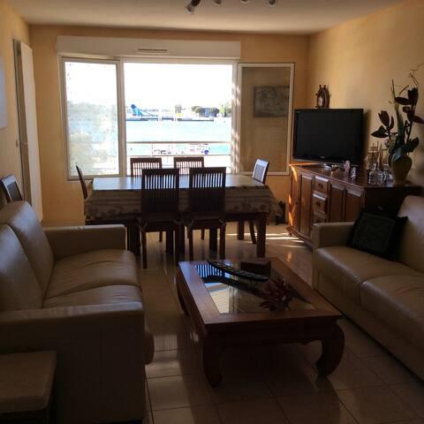 Appartement T2 avec vue sur le Port