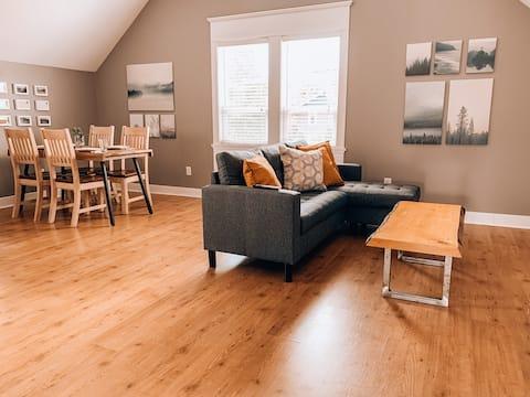 Sitka Cedar Guest Suite in historic Ladner, B.C.