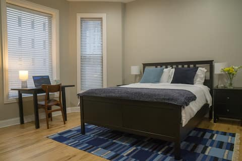 Steps to Mag Mile,free 360,fast wifi, washer/dryer