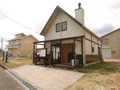 琵琶湖畔にある温泉付き別荘で季節に合わせた旅を満喫