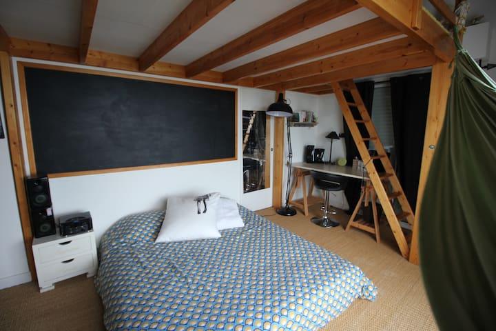 Chambre 1 - lit king size
