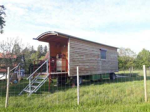 Ökologisches Tiny House auf kleinem Biolandhof !