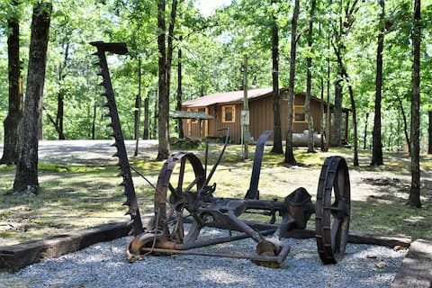 Secluded 1 bedroom rustic cabin near Lake Ouachita