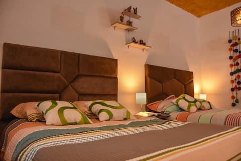 Apu House, minidepartamento amoblado y céntrico. T