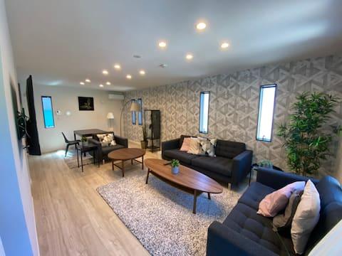 BBQ可EnaleeBeachVilla・3ベッドルーム・2021年新築白良浜徒歩5分100平米