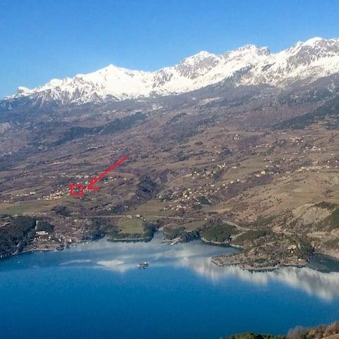Gîte entre Lac et Ski à Serre-Ponçon