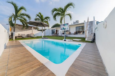 Casa Balandra Casa de Descanso Playa Chachalacas