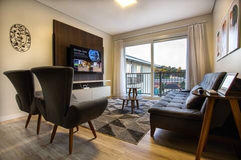 Apartamento  Novo e Aconchegante em Canela - RS