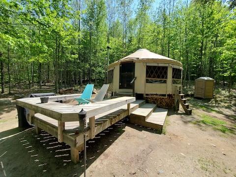 Mountain View Yurt at Frost Mountain Yurts