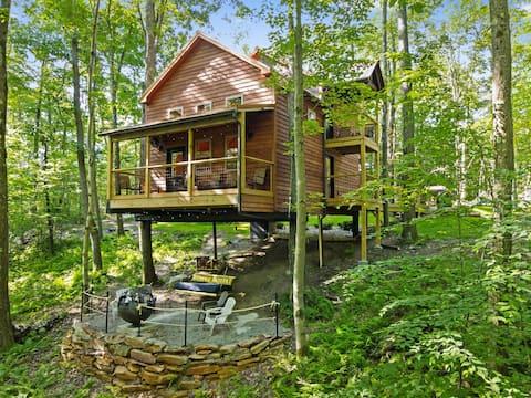 Ohiopyle Luxury Treehouse