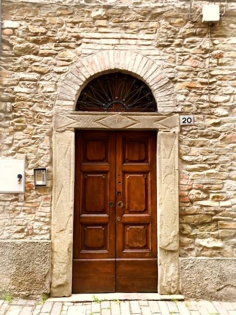 La casa di Rina in centro a Ponzone
