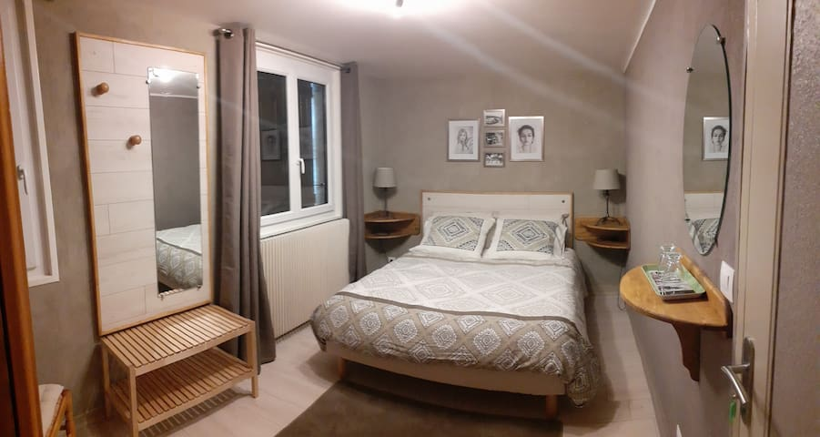 Chambre 2 Gîte Souvigne