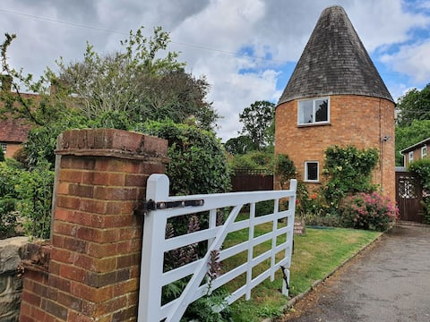 Stay in a traditional Kentish roundel Oast House