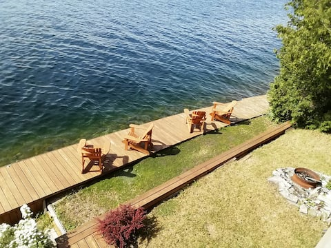 Come  Relax / fish on the dock - Lobourough Lake